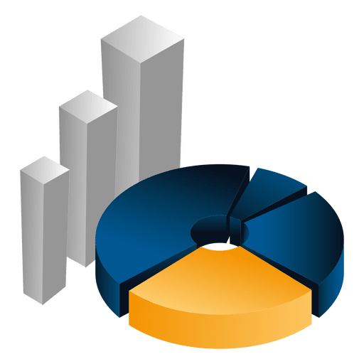 e595ef6dca0825a3b63a72fbeca6a190 3d piechart bars by vexels